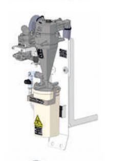 Separador de amalgama ISO 18 para Turbo Smart