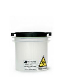 Contenedor de amalgama ISO 4